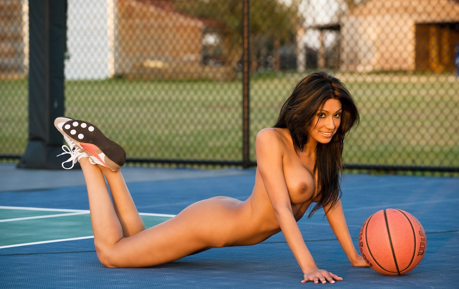 Find sexy naked basketball players young